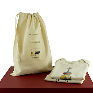 'Hey Diddle Diddle' Baby Organic Gift Set - baby care