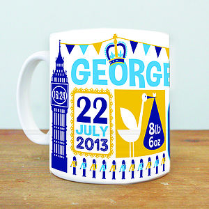 Prince George Royal Baby Mug