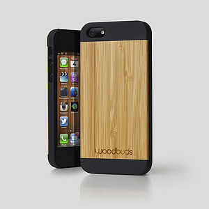 Wood Case For IPhone Five - tech accessories for him