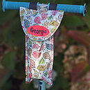 Bird Print Handlebar Bottle Bag