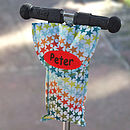 Scooter Bottle Bag Star Print