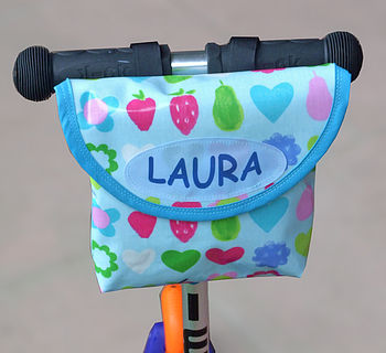 Apple Print Child's Handlebar Bag