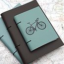 Leather Bicycle Journal