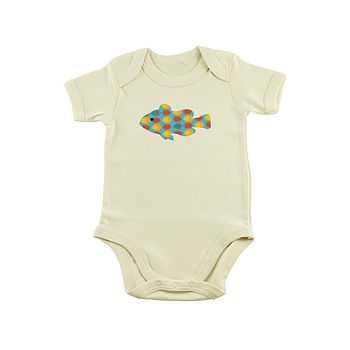 Fish Organic Cotton Bodysuit