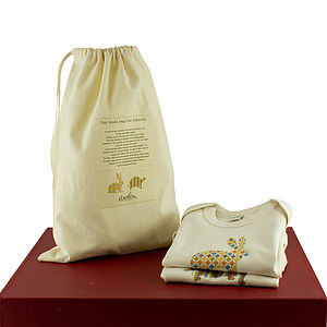 'Hare And Tortoise' Baby Organic Gift Set - babygrows