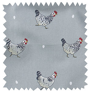 Chicken Fabric By The Metre - throws, blankets & fabric