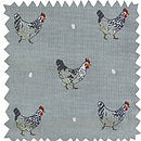 Chicken Oilcloth By The Metre