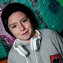 Freddie The Eagle Child's Hooded Jumper