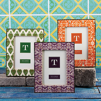 Exotic Ikat Picture Frame