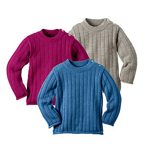 Organic Merino Wool Children's Jumper - children's jumpers
