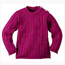 Organic Merino Wool Children's Jumper