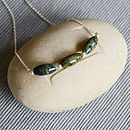 Jade Trio Necklace