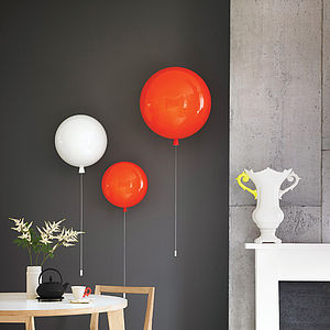 Memory Balloon Wall Light - children's lighting