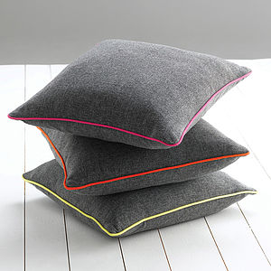 Piped Edge Cushion - plain cushions