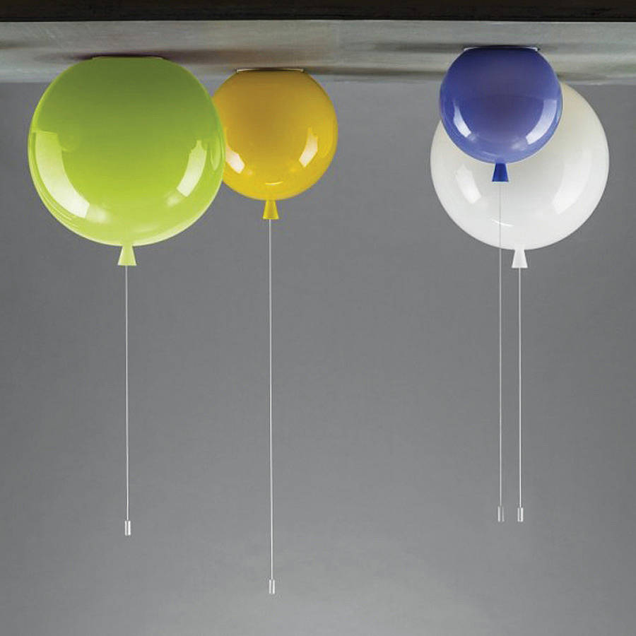 memory balloon ceiling light by john moncrieff. Black Bedroom Furniture Sets. Home Design Ideas