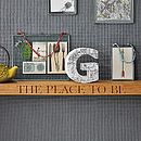 Personalised Oak Floating Shelf