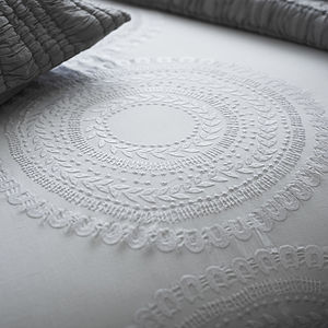 Navajo Embroidered Bed Linen