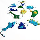 Handmade Under The Sea Felt Bunting