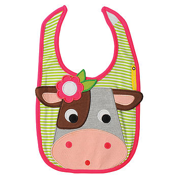 Collette Cow Bib