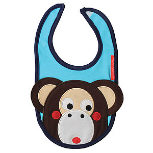 Michael the Monkey Bib