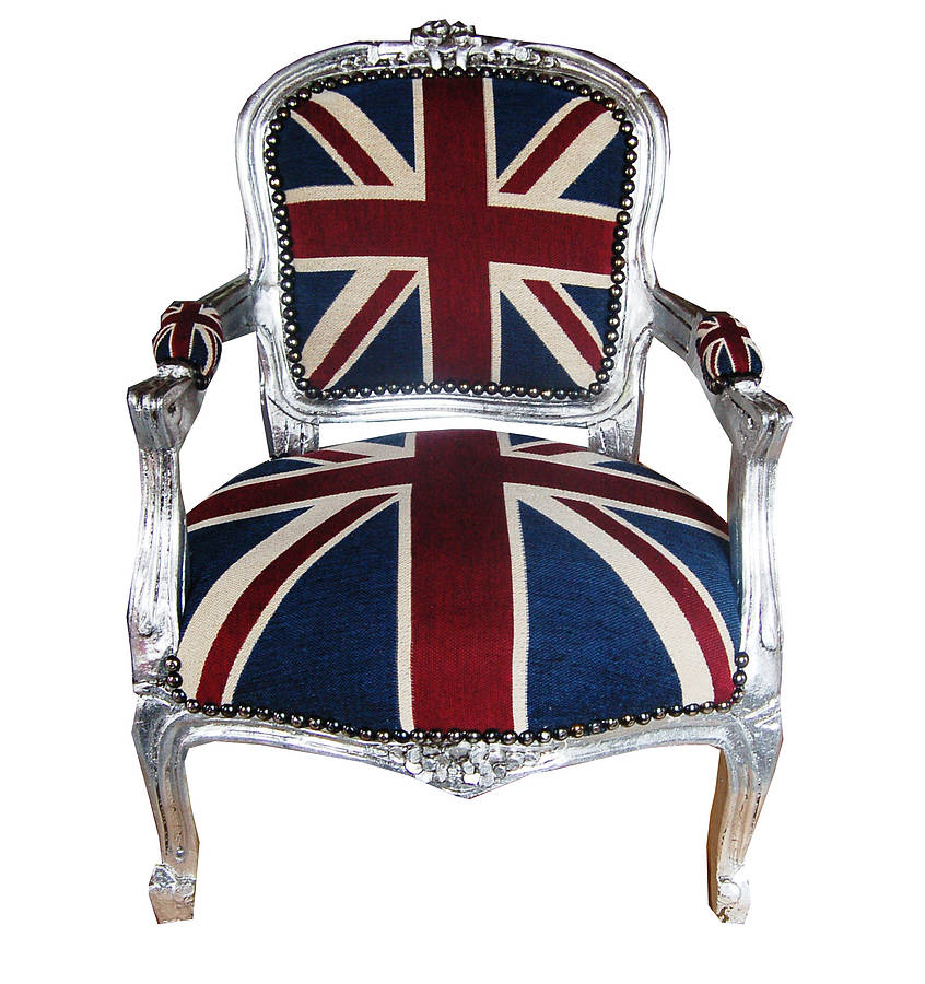 union jack childrens chair by made with love designs ltd