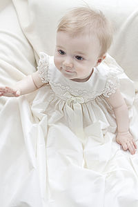 Christening Gown 'Lucy' - shop edinburgh