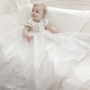 Christening Gown 'Lola' - personalised