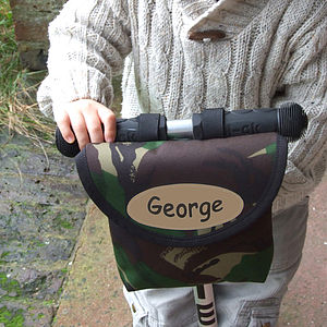 Camouflage Print Child's Scooter Or Bike Bag - children's accessories