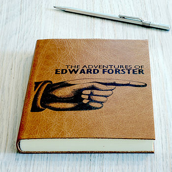 Personalised Leather Journal 2014