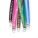 Patterned Key Chain / Lanyard