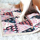 Handmade Quilted Gypsy Pet Blanket