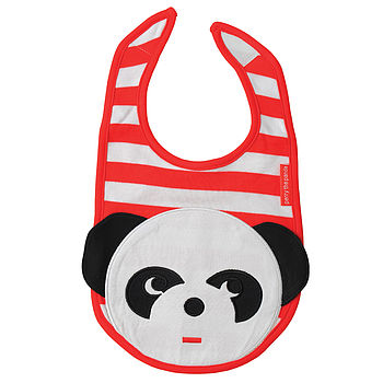 Perry the Panda Bib