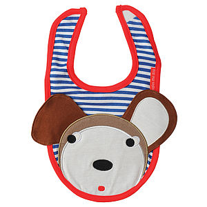 Douglas the Dog Bib - baby care