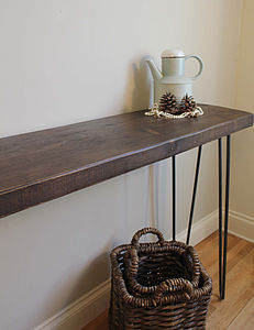Industrial Style Console Table - side tables