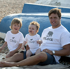 'Chip' Off The 'Old Block' Set - t-shirts & tops
