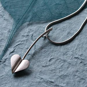'Love Grows' Sterling Silver Heart Necklace - necklaces & pendants