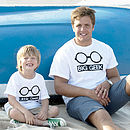 'Big Geek Little Geek' Father And Child T Shirts