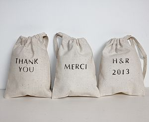 Wedding Favour Bags - wedding favours