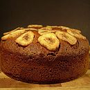 Go Nuts and Bananas Cake