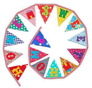 'Home Sweet Home' Bunting - bunting & garlands