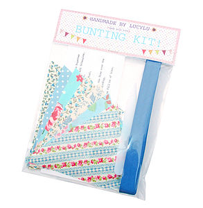 Make Your Own Bunting Kit - sewing kits