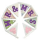 'Mr & Mrs' Wedding Bunting