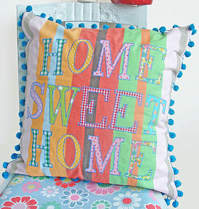 'Home Sweet Home' Cushion - cushions