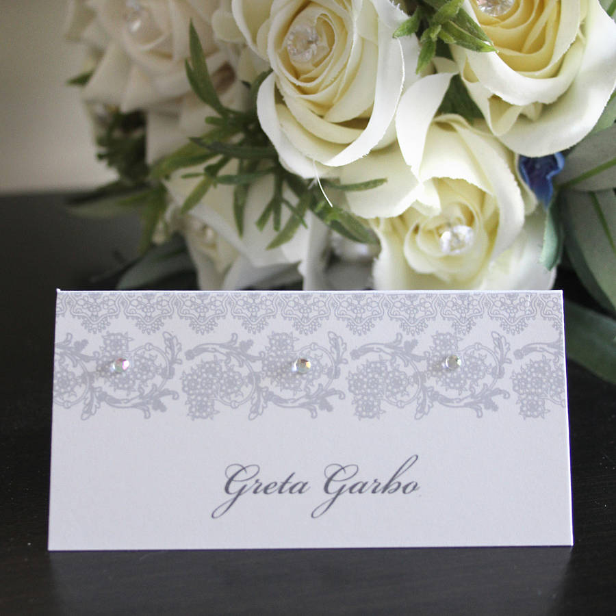 Creative Wedding Place Card Ideas: Wedding Place Card / Name Card By 2by2 Creative
