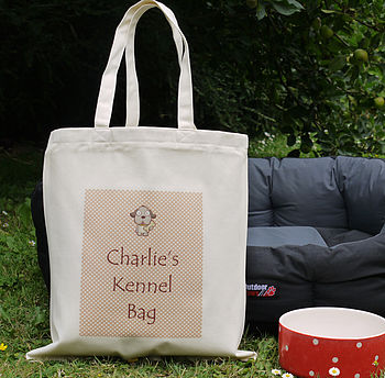 Personalised Pet Kennel Bag