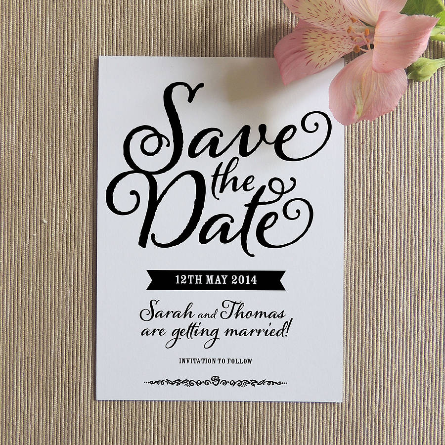 Free save the date cards for birthday party life style by save date invitation templates bookmarktalkfo Images