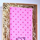 Polka Dot Flying Bird Handkerchief