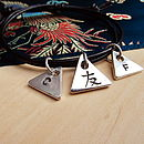 Kanji Personalised Silver Friendship Bracelet