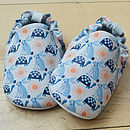 Hare And Tortoise Baby Shoes