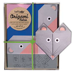 Origami Notepaper Set : Mouse - writing paper & sets